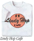 The Lindy Hop Cafe t-shirt
